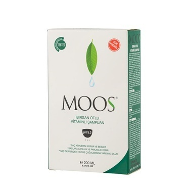 Moos Stinging Nettle Shampoo 200ml Renksiz